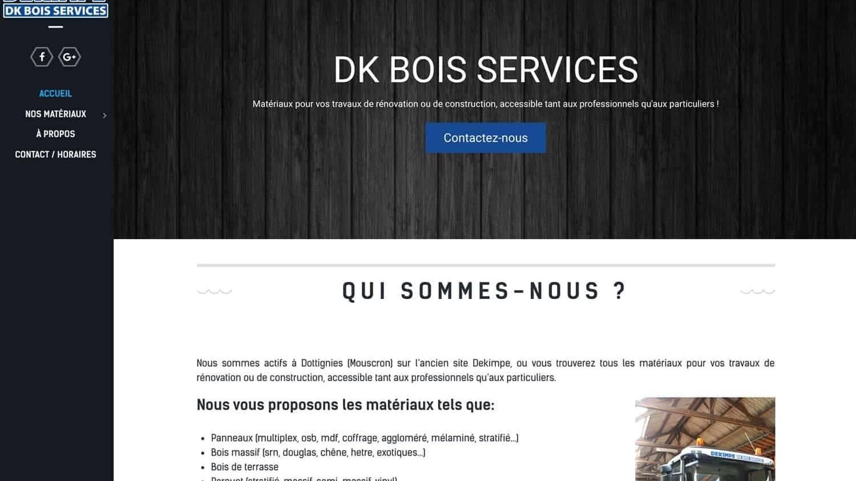 DKBois référence plein écran