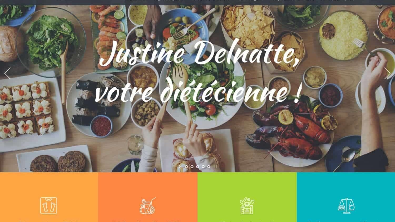 Justine Delnatte référence plein écran