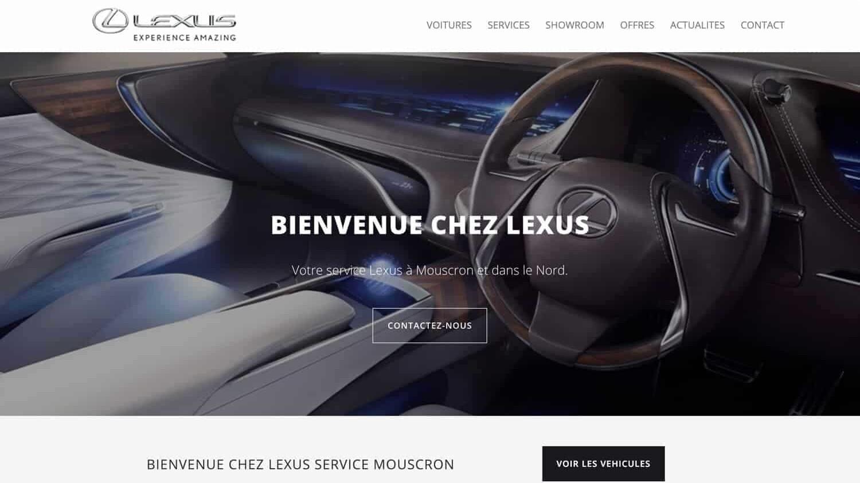 Lexus référence plein écran