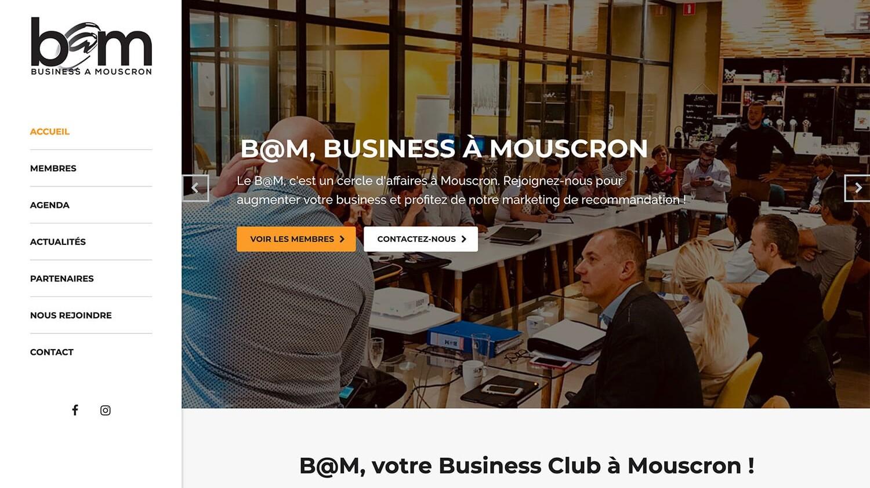Business@Mouscron référence plein écran