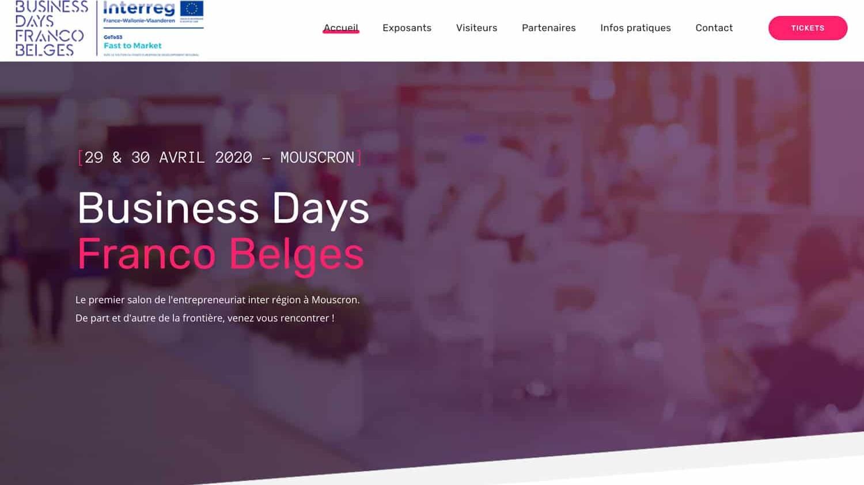 Business Days référence plein écran