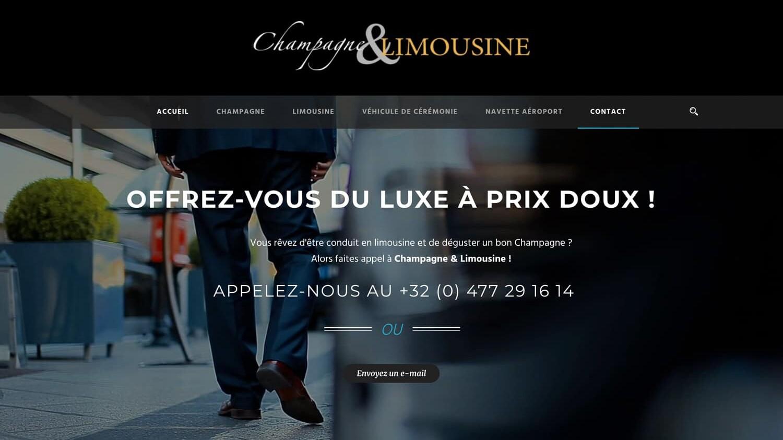 Champagne Limousine référence plein écran