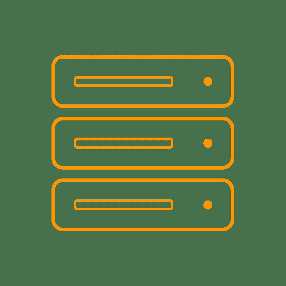 Hébergement icone